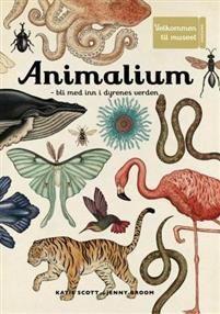 Animalium er laget som et museum. En håndtegnet samling av dyr fra hele verden, med tekster som beskriver hvordan de de forskjellige artene har utviklet seg, om hvor og hvordan de lever. Her får man følelsen av å bevege seg gjennom museumsutstillinger av maneter og blekkspruter, frosker og falker, sjiraffer og elefanter.    Animalium er en feiring av alt som lever, og du blir kjent med alle de spennende, rare og vakre dyrene som bor på kloden vår - fra de minste og merkeligste biller, til…