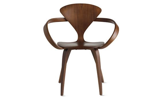 CHERNER CHAIR:The molded plywood Cherner Chair, designed for Plycraft in 1958, has become an icon of mid-twentieth century desi...