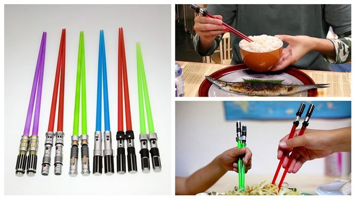 Star Wars Lightsaber Chopsticks | Diply