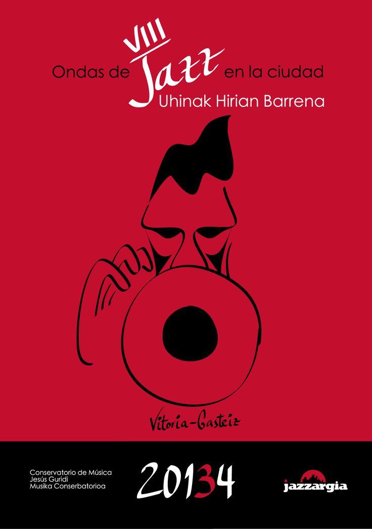 """Imagen y web de """"Ondas de Jazz en la Ciudad"""" 2013-14 (homenaje a Chet Baker)"""