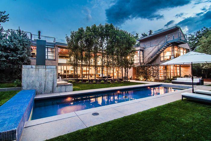 The contemporary Denver home of Chipotle founder Steve Ells  Colorado Homes & Lifestyles magazine, home design, modern homes, interior design, architecture, outdoor living