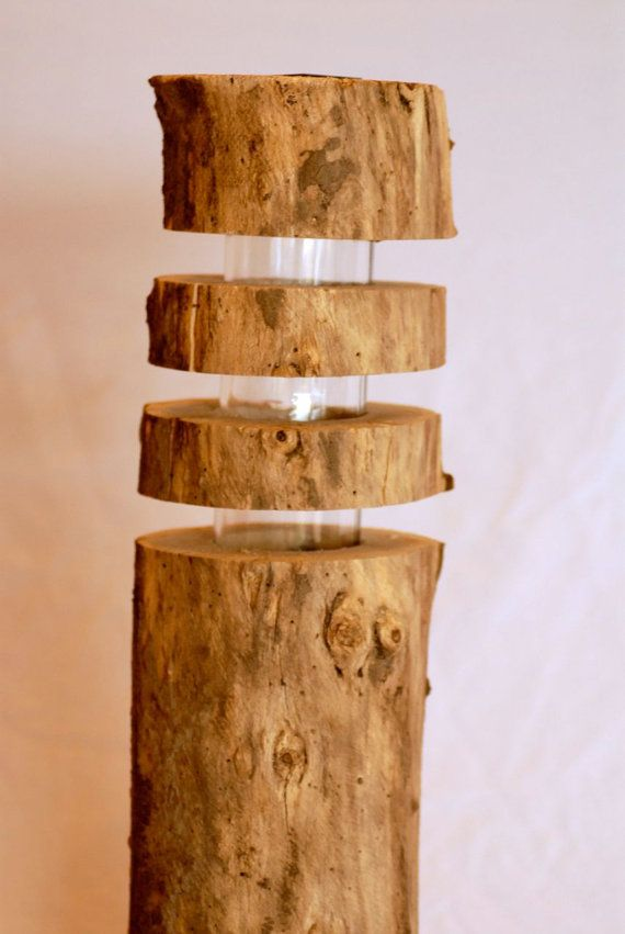 Non cheesy solar lights! Driftwood solar luminary lights. SMALL 25 by PolarityRareGoods, $55.00