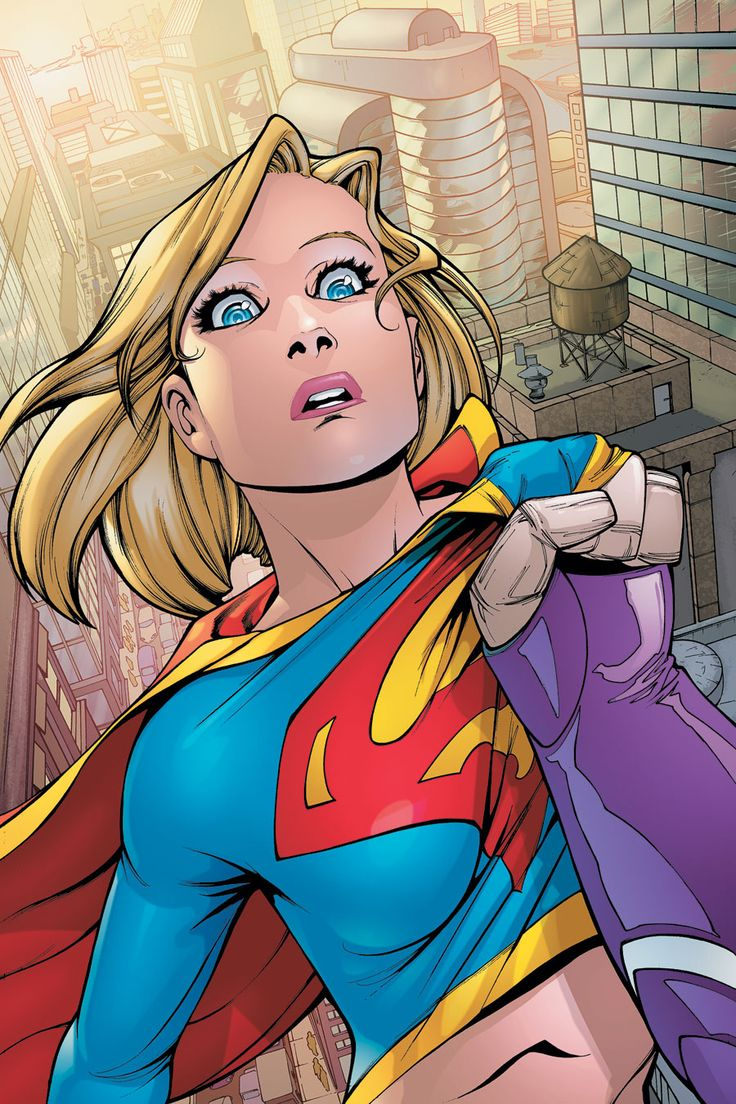 Supergirl tits squeezed — photo 9