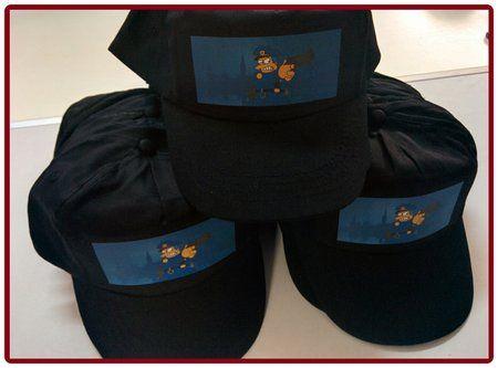 Gorras personalizadas con transfer, gorras baratas.