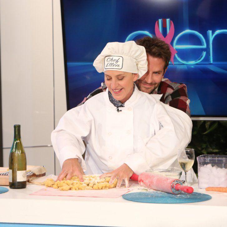 Ellen DeGeneres Cooking With Bradley Cooper's Hands Is Just as Amazing as It Sounds