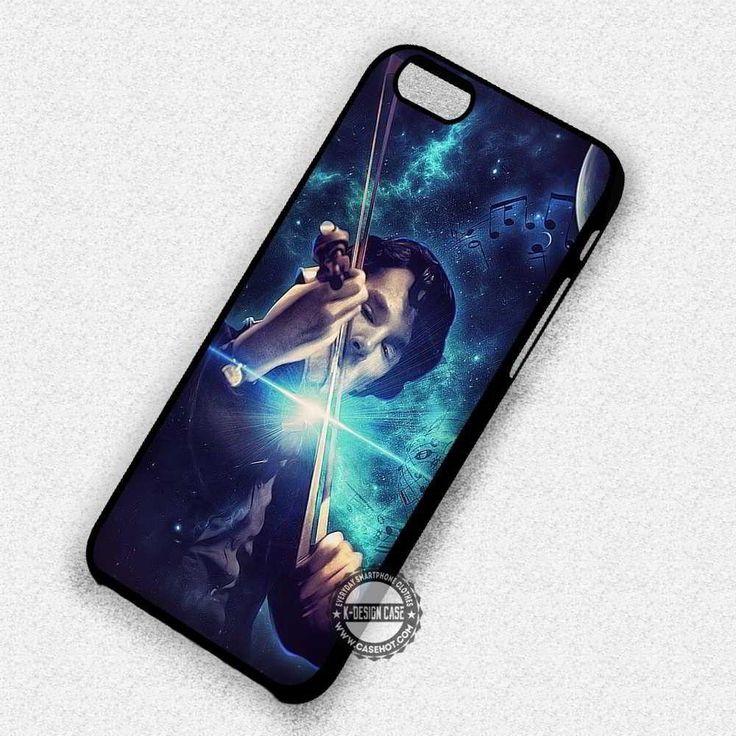 Sherlock Holmes Violin - iPhone 7 6 Plus 5c 5s SE Cases & Covers