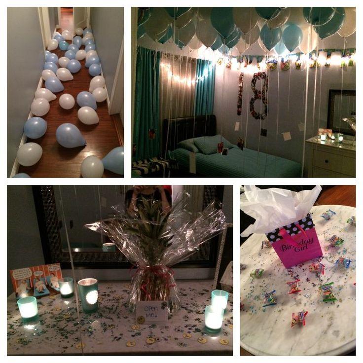1000 Ideas About Anniversary Surprise On Pinterest: 1000+ Ideas About Birthday Room Surprise On Pinterest