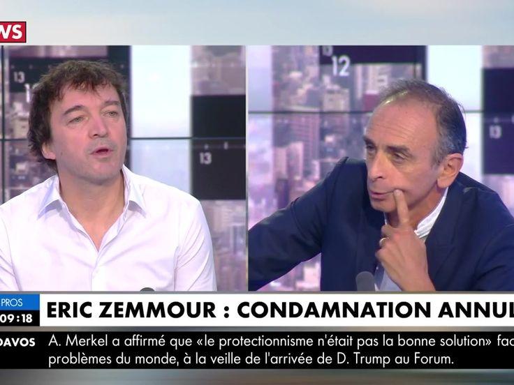 """VIDEO. Cali quitte en direct le plateau de CNews : le chanteur ne veut pas être """"le complice"""" d'Eric Zemmour"""