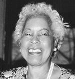 """This is a picture of Ethel James Williams. According to """"NASW Foundation National Programs NASW Social Work Pioneers,""""(2004), Ms. Williams was appointed by the then Mayor of D.C., Mayor Marion Barry in 1980, as Executive Director of Commission for Women. Ms. Williams also was a member of the staff of the first D.C. City Council."""