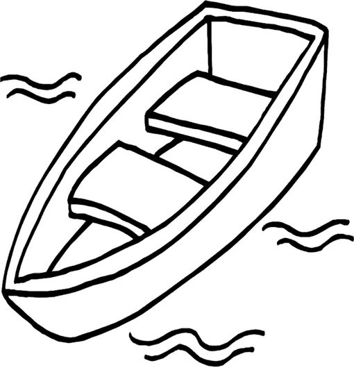 Boat Transportation Coloring Pages To Print