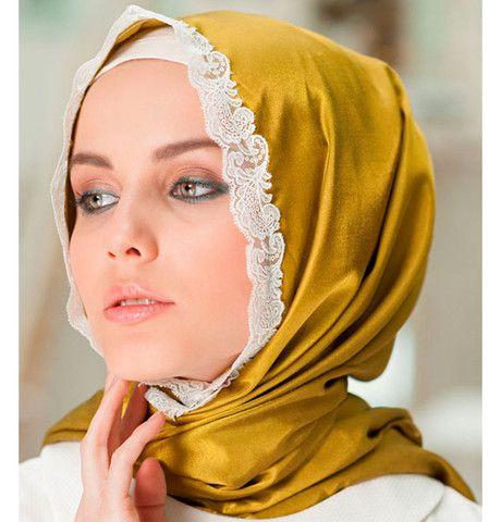 Neva Style Satin Lace Shawl 1319 | Modefa USA