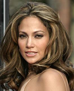 Jennifer Lopez Hair Colors