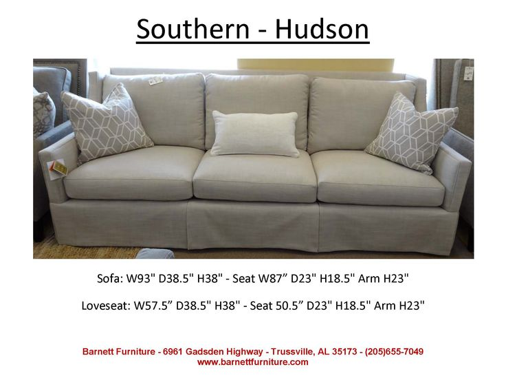 Southern Furniture Hudson Sofa We LOVE the look of this
