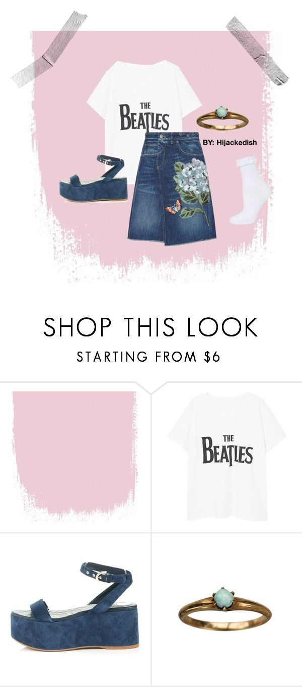 """The Beatles"" by hijackedish on Polyvore featuring Violeta by Mango, Dolce&Gabbana, Chanel and Topshop"