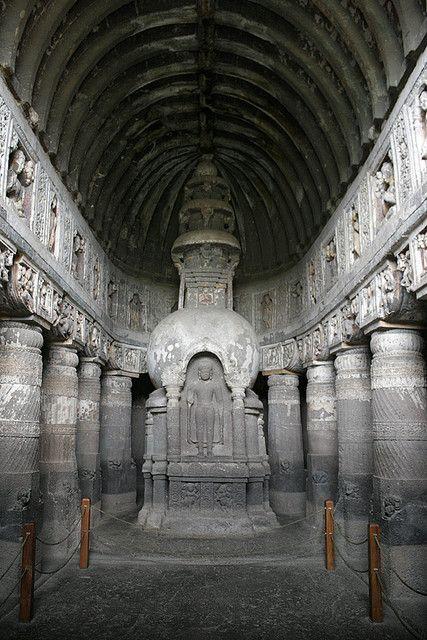 Ajanta Caves (UNESCO) - Maharashtra, India