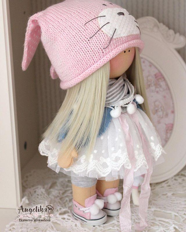 #вналичии #текстильнаякукла #текстильнаяигрушка #кукласвоимируками #doll #dolls #dollstagram