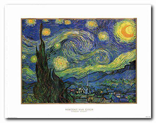 Vincent Van Gogh Starry Night Wall Decor Art Print Poster... https://www.amazon.com/dp/B01BF9BLNY/ref=cm_sw_r_pi_dp_x_c7mCybQ16WRBM