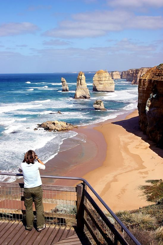 The 12 Apostles, Great Ocean Road, Australia  Thanks to the company I work for Stampin' Up!   Linda Bauwin Your CARD-iologist