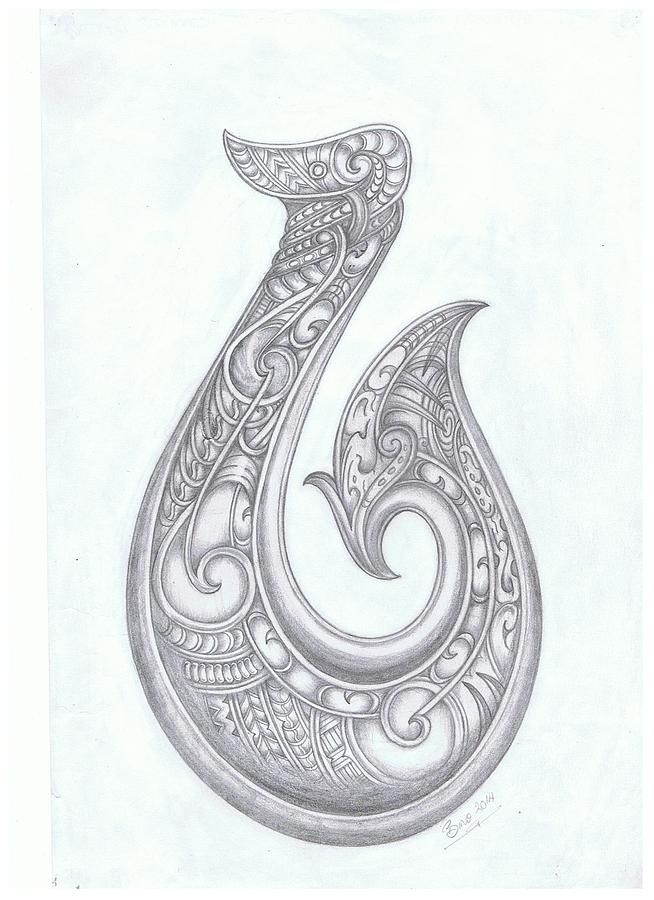 Hei matau fish hook tattoo idea tribal hawaiian for Fish n hook