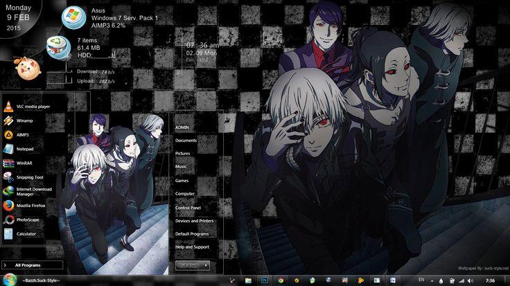 [Theme Win 7] Tokyo Ghoul 1.1