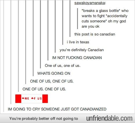Canadian Cult .. WHERE DO I SIGN UP!?