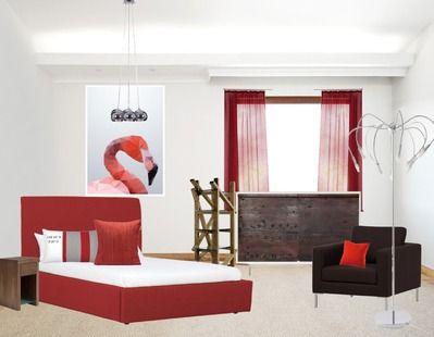 25 beste idee n over bruine muren op pinterest bruine verf muren bruine badkamer en bruine verf - Bed na capitonne zwarte ...