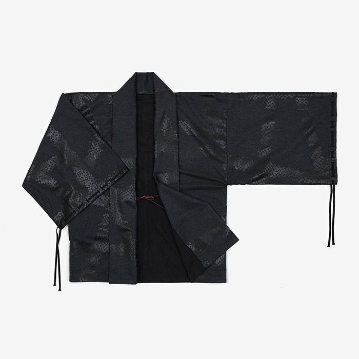 Reversible Haori Jacket Wool Chain Motif : SOU • SOU US Online Store