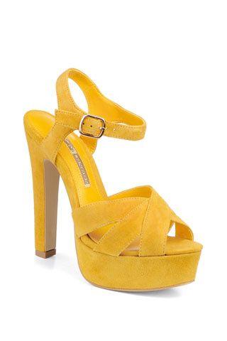 tacones amarillos- yellow