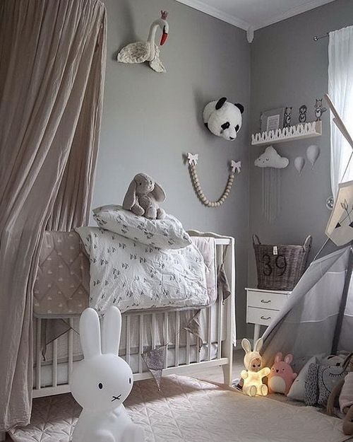 376 best nursery decorating ideas images on pinterest for Baby rooms decoration ideas