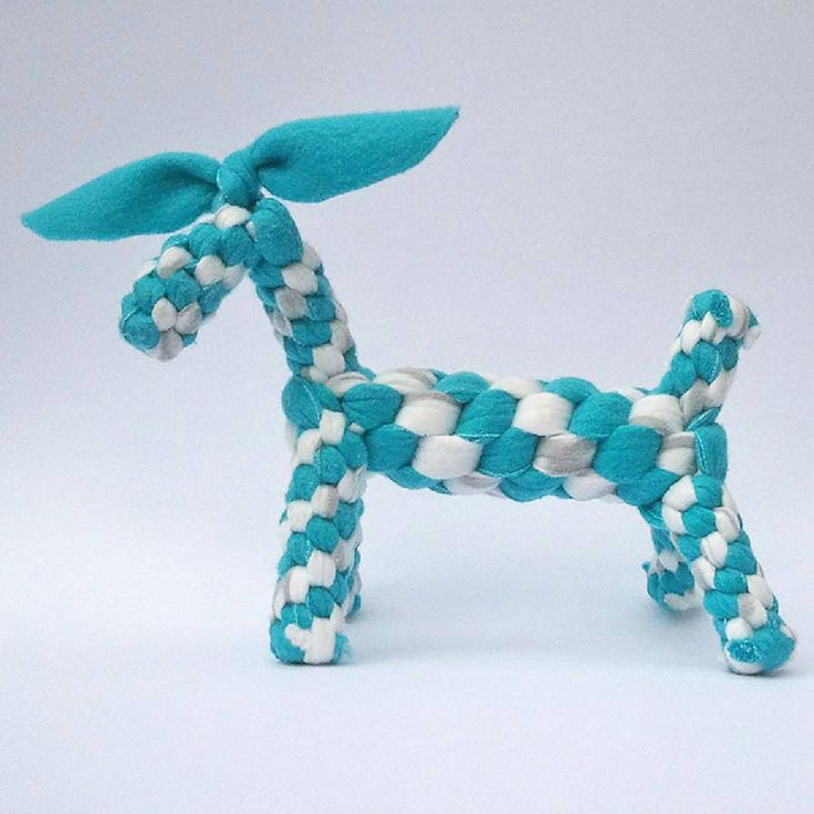 Fleece Dog Toy For Dogs