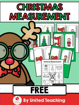 The Christmas Measurement center provides children with the opportunity to practice measuring Christmas objects using units of measurement. The activity contains 6 colorful measuring cards and a worksheet for recording answers. This is a great math center to use during the Holiday season. ***Don't forget to check out my other Christmas products***.