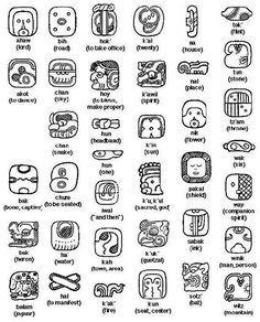 Mayan Animal Symbols Pictures