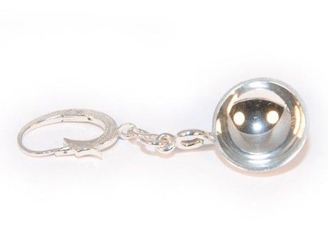 Appenzeller Ohrschaufel Silber -Detail