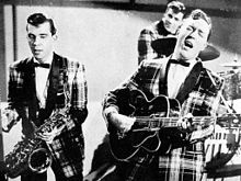 March 20, 1955 – Evan Hunter's movie adaptation of the novel Blackboard Jungle premieres in the United States, featuring the famous single, Rock Around the Clock, by Bill Haley and His Comets. Teenagers jump from their seats to dance to the song.