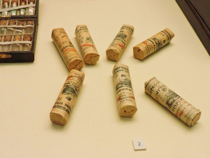 Museo Homeopatía - Específicos homeopáticos Humphreys, Nueva York, finales del…