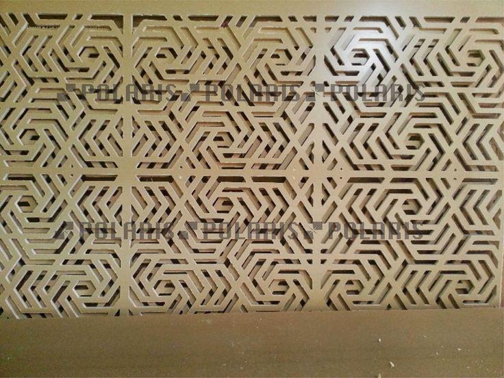 POLARIS Laser Cutting dan CNC Surabaya: panel interior WPC 15 mm cutting CNC Surabaya
