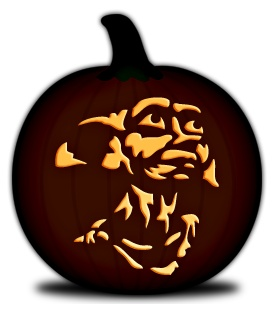 61 best images about pumpkin carving on pinterest for Harry potter pumpkin carving templates