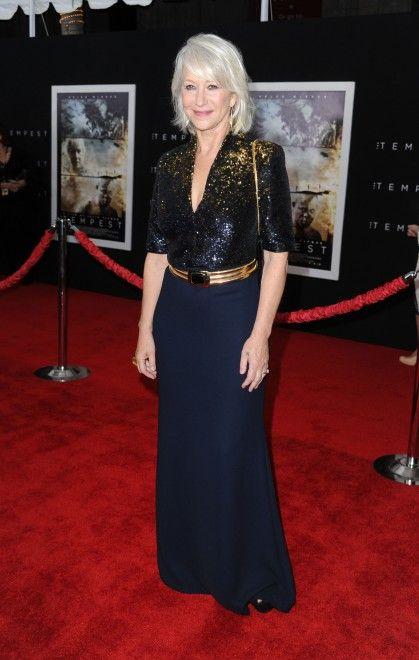 Helen Mirren you are a goddess.
