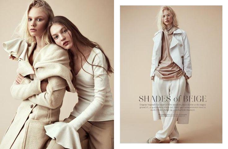 Shades of Beige (Costume Magazine)