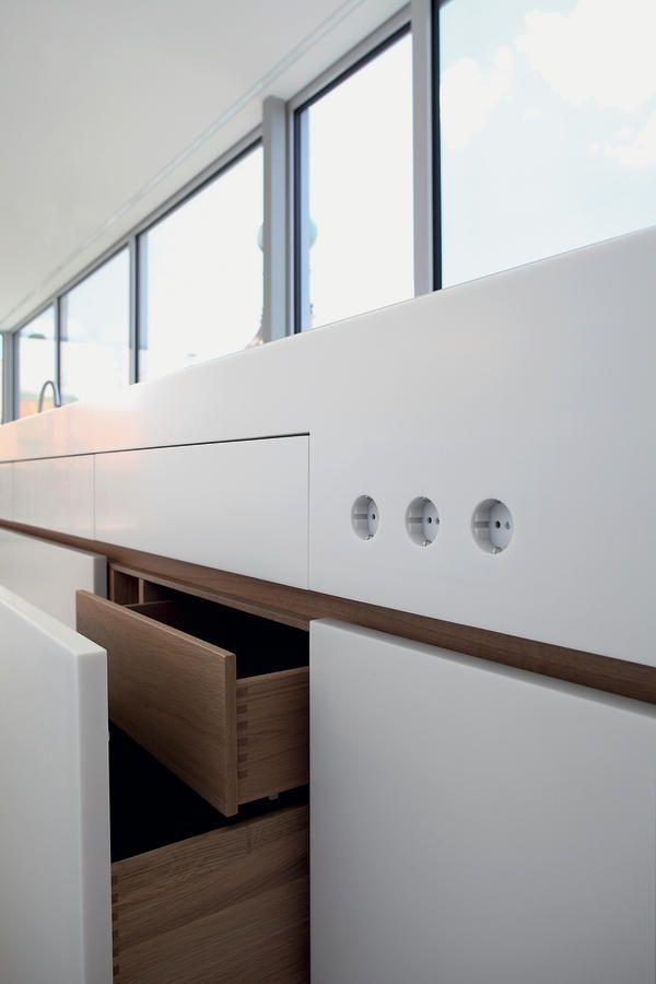 Die besten 25+ Minimalistische küchenmöbel Ideen auf Pinterest - moderne esszimmer ideen designhausern