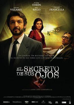 Regia: Juan José Campanella  Con: Ricardo Darin, Soledad Villamil  Argentina 2010  Oscar Miglior film straniero 2010