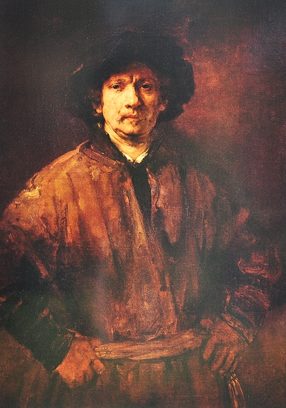Rembrandt Harmenszoon van Rijn (self portrait) July 15, 1606-October 4, 1669. The Great Dutch Master was a painter and etcher. He is generally considered one of the greatest painters and printmakers in European Art History. He is the most important in Dutch History.