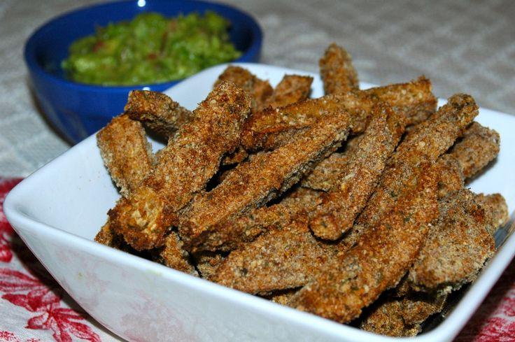 Crispy Baked Eggplant Fries | Vegetables | Pinterest