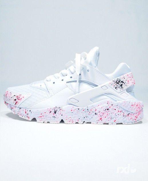 Light Nike Air Huarache Rxl Custom Womens White Pink