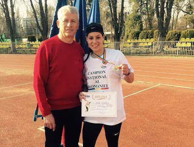sportcampina: Ioana Plăvan, campioană naţională la aruncarea sul...