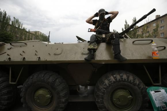 Quoting Old Testament, new pro-Russia militia group lines up in Ukraine