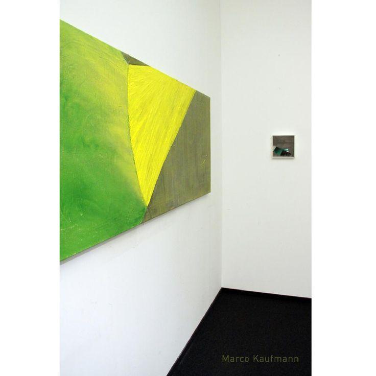 exhibition view of Berlin artist Marco Kaufmann