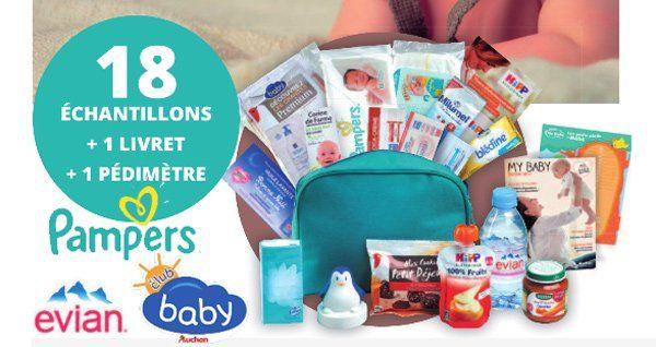20'000 Trousses de Naissance Pampers Bébé Offerte Gratuitement par le Club Baby…