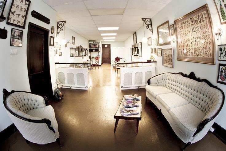 best 20 tattoo shop decor ideas on pinterest. Black Bedroom Furniture Sets. Home Design Ideas