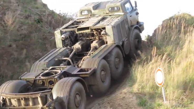 Soviet Union military power truck ZIL-135
